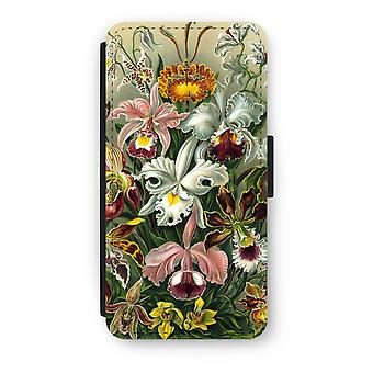 iPhone 8 Plus Flip Case - Haeckel Orchidae