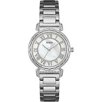 Guess Ladies Watch argento bianco W0831L1