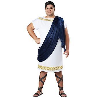 Traje de Toga griego griego romano Caesar hombres más