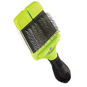 FURminator Slicker Brush with Soft Bristles for Dogs Small