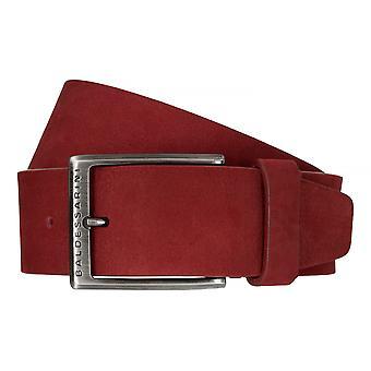 Cinturones de BALDESSARINI correa de cuero cinturones de los hombres de cuero Ferrari rojo 6485