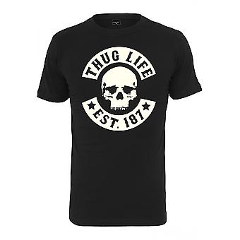 Urban classics T-Shirt Thug Life skull