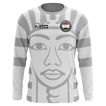 2018-2019 Egipt długi rękaw koszuli piłki nożnej od koncepcji