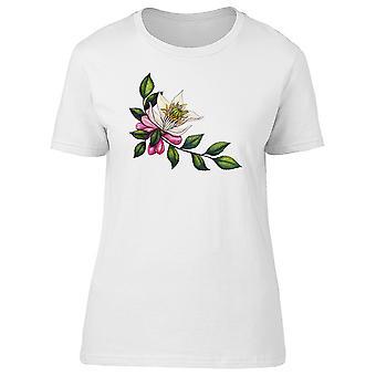 Bergamot Tree Flower & Buds Tee Women's -Image by Shutterstock
