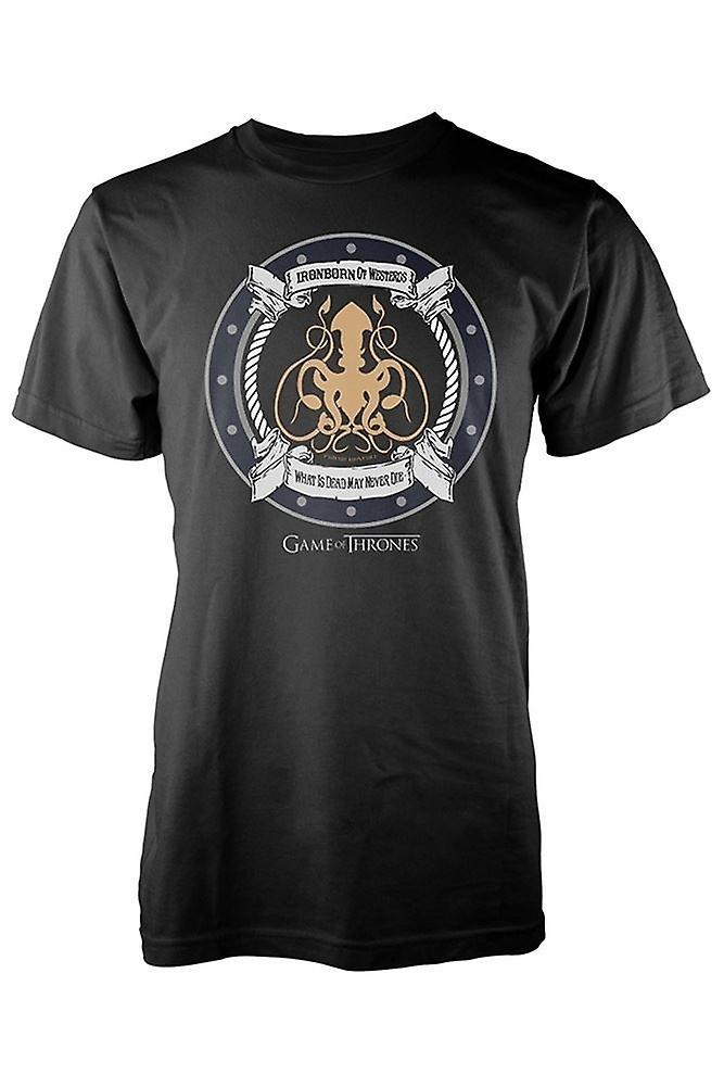 GAME OF THRONES - IRON BORN- T-Shirt Men's[M]