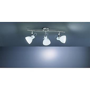 Trio Lighting Ginelli Modern Nickel Matt Metal Spot