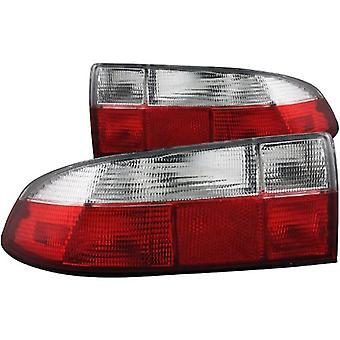 Anzo USA 221131 BMW Z3 Red/Clear Tail Light Assembly - (Sold in Pairs)