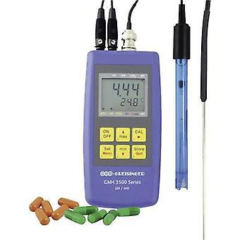 GREISINGER GMH 3511 Set Multi tester pH ORP, temperatura calibrado a los estándares del fabricante (no certificado)