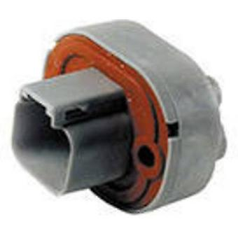TE Connectivity DT15-2P Bullet connector Plug, straight Series (connectors): DT Total number of pins: 2 1 pc(s)