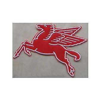 Mobil Pegasus (Facing Left) Iron-On / Sew-On Cloth Patch