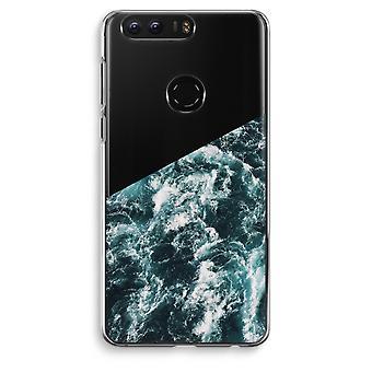 Honor 8 Transparent Case (Soft) - Ocean Wave