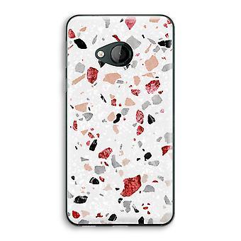 HTC U Play Transparent Case (Soft) - Terrazzo N°12