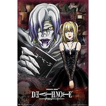 Deathnote Misa & Rem Poster Poster Print