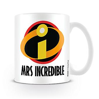The Incredibles 2 cup Mrs. Incredible white, printed, ceramic, capacity approx. 320 ml...