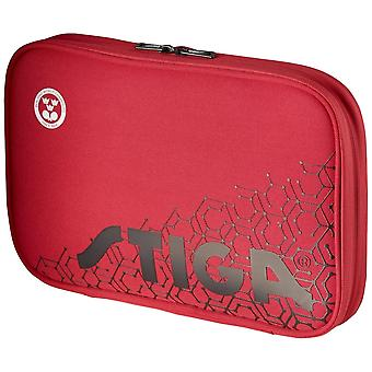 Stiga Reverse Single Wallet Table Tennis Bag Red/Black