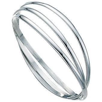 Beginnings Russian Wedding Bangle - Silver