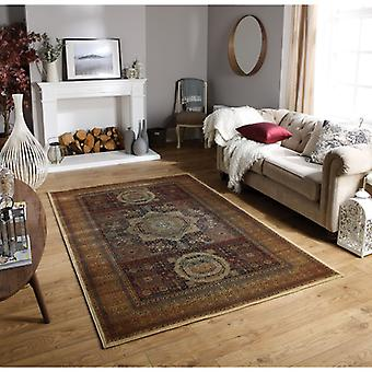 Tabriz 35 X  Red Terracotta  Rectangle Rugs Traditional Rugs