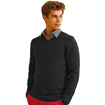 Outdoor Look Mens Derby V Neck Classic Casual Sweater Jumper