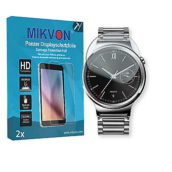 Huawei Watch Classic Screen Protector - Mikvon Armor Screen Protector (Retail Package with accessories)