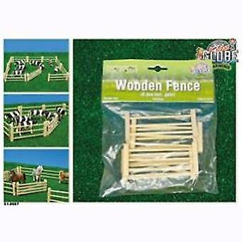 Wooden fence 6 piece
