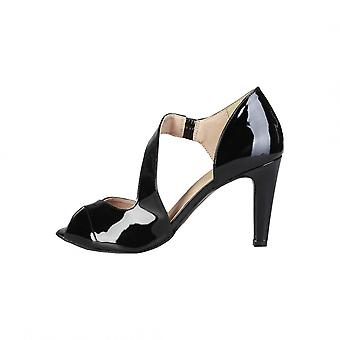 Pierre Cardin czarne sandały BLANDINE kobieta wiosna/lato