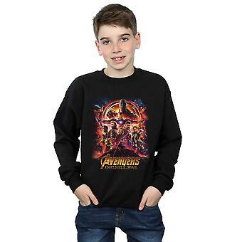 Marvel jungen Avengers Infinity Krieg Film Poster Sweatshirt