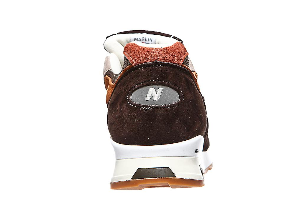New balance made in England men's sneaker Brown
