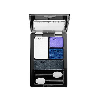 Maybelline Expert Wear Eyeshadow Quads, Electric Blue