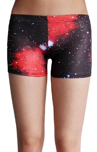 Waooh - Fashion - Shorty printed galaxy
