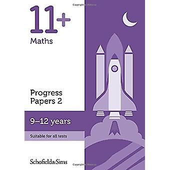 11+ Maths Progress Papers Book 2 - KS2 - Ages 9-12 - 9780721714578 Book