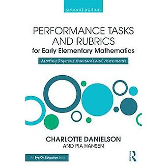 A Performance Tasks and Rubrics for Early Elementary Mathematics - Mee