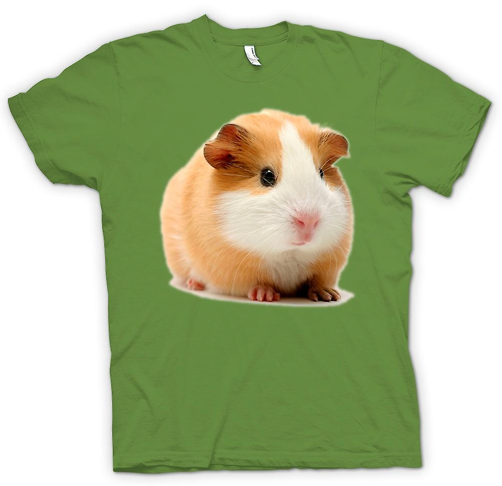 Mens T-shirt - Guinea Pig - Blonde - Cute