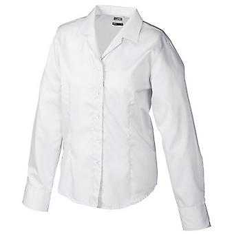 James and Nicholson Womens/Ladies Long Sleeve Business Blouse