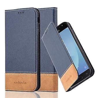 Cadorabo sleeve for Samsung Galaxy J5 2017 - mobile case with stand function and card cover from an artificial leather suits - case cover sleeve pouch bag book