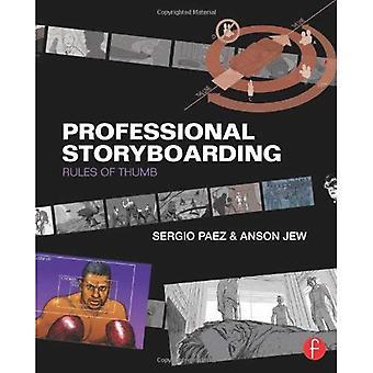 Professionell Storyboarding: tumregler