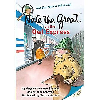 Nate the Great on the Owl Express (Nate the Great Detective Stories)