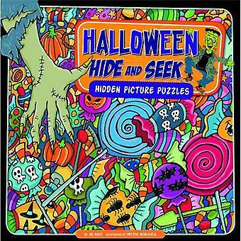 Halloween gjemsel: skjult bilde oppgaver (søke den ut)