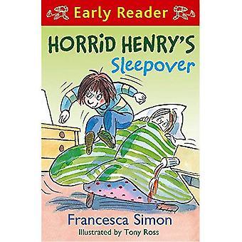Akelige Hendriks Sleepover (akelige Henry vroege Reader)