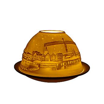Licht leuchten Kuppel Teelichthalter, Newcastle