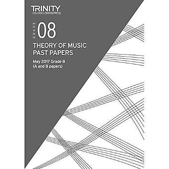 Trinity College London: Past Papers: Theory (May 2017) Grade 8
