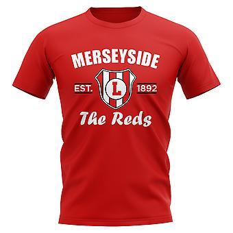 Liverpool Established Football T-Shirt (Red)