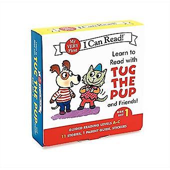 Mit Schlepper die Pup und Freunde lesen lernen! Box-Set 1: Ebenen enthalten: A-C (meine allererste Ich kann lesen!)