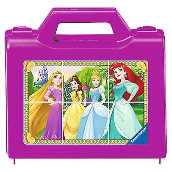 Disney Princesse puzzle de bloc, 6pcs.