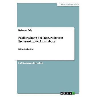 Feldforschung bei Friseursalons in EschsurAlzette Luxemburg par Fink & Lisa