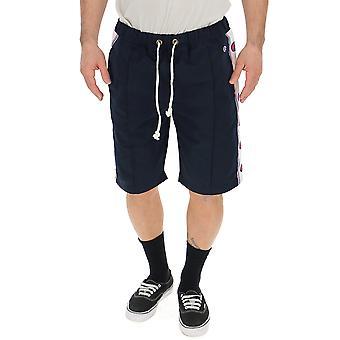 Champion Blue Nylon Shorts