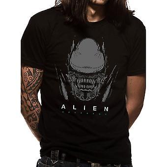 Männer Alien Covenant Xeno und Logo T-Shirt