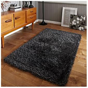 Rugs - Monte Carlo Shaggy Rugs In Grey