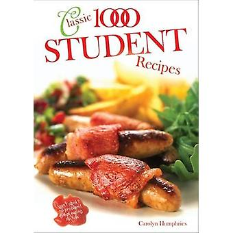 The Classic 1000 Student Recipes by Carolyn Humphries - 9780572029814