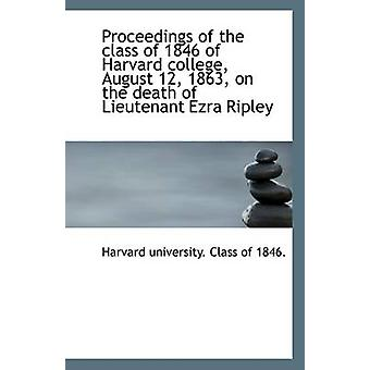 Proceedings of the Class of 1846 of Harvard College - August 12 - 186