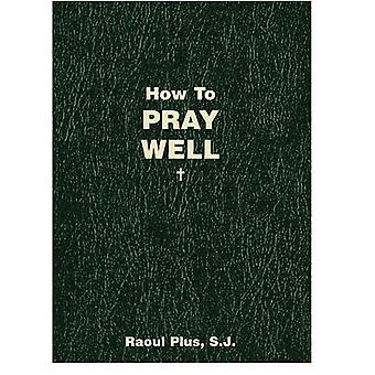 How to Pray Well by Raoul Plus - 9781933184555 Book